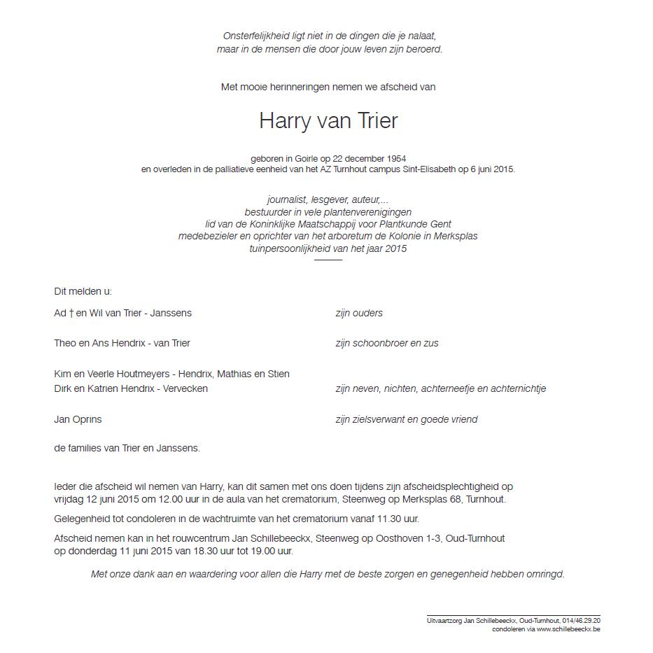 Rouwbericht Harry_Website