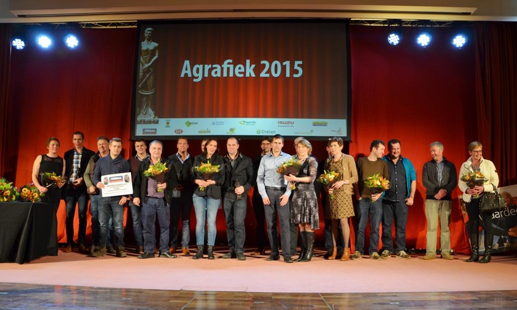 PERSBERICHT UITREIKING AGRAFIEK-AWARDS 2015