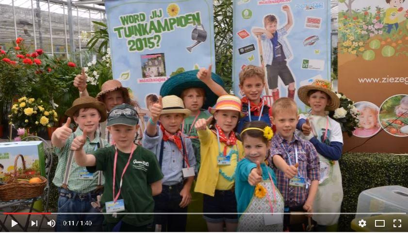 Gijs Rombouts is tuinkampioen 2015