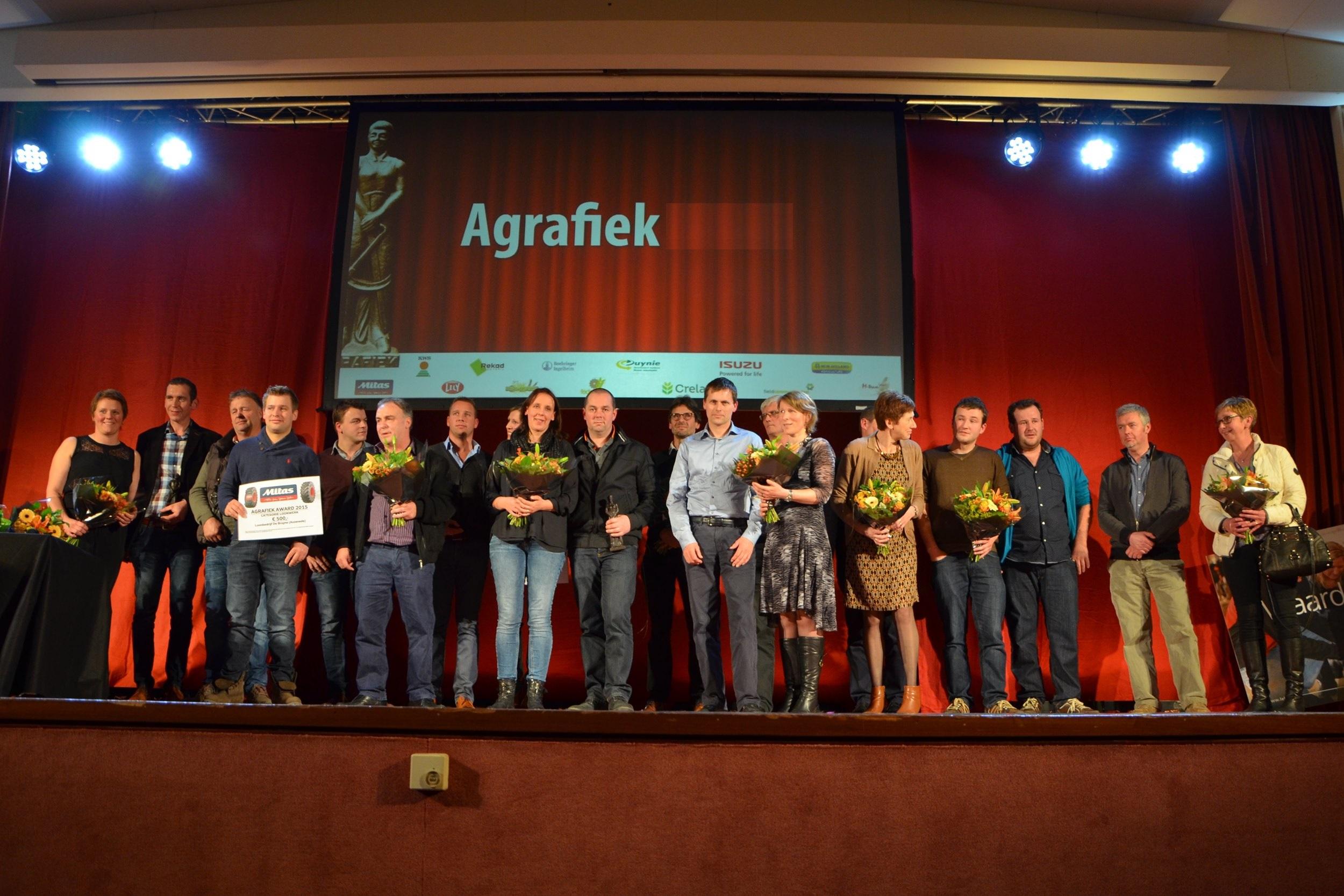 16e editie van de Agrafiek Award tijdens Agribex 2017