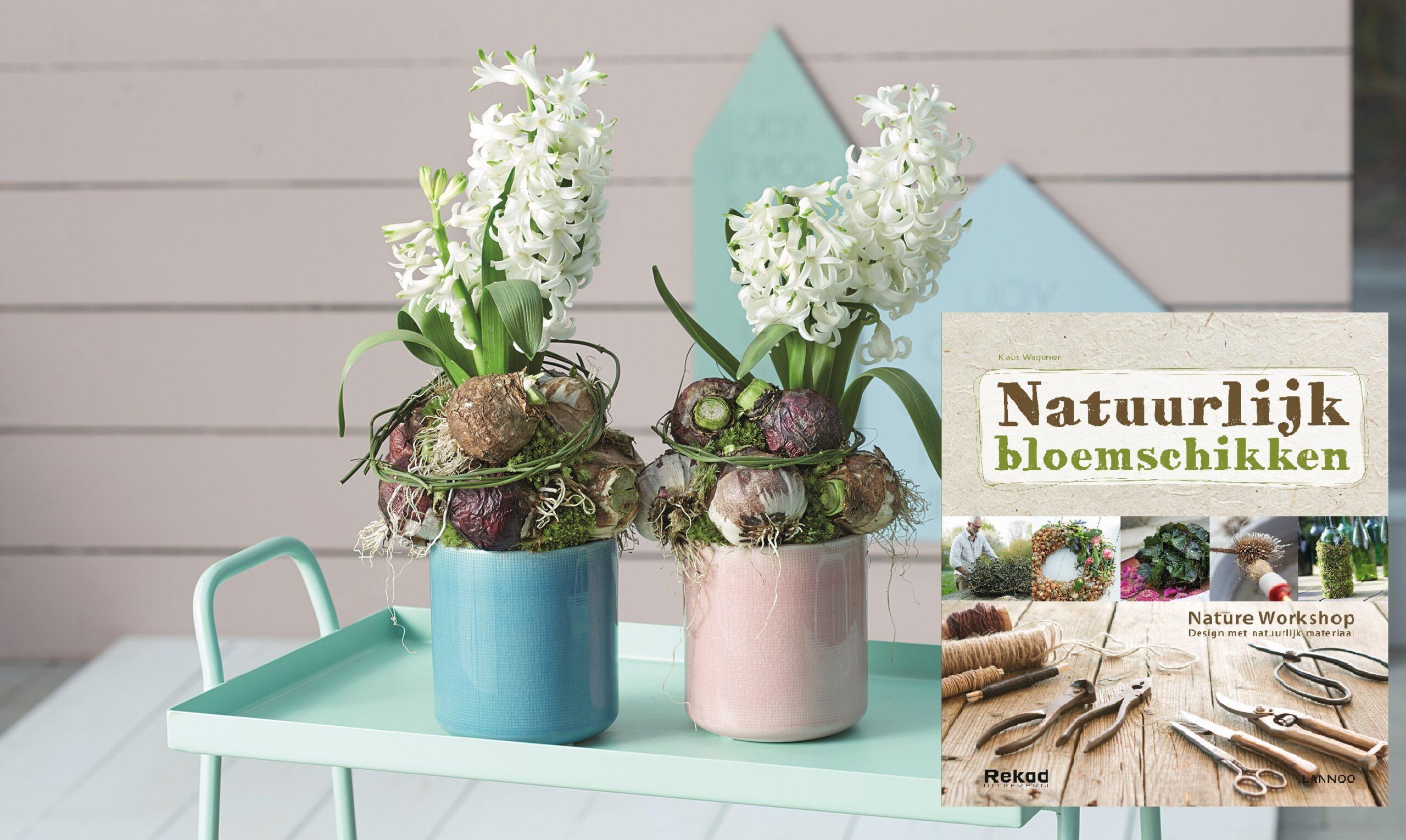 Rekad geeft samen met Lannoo bloemschikboek uit