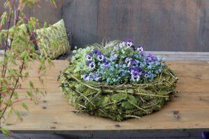 Natuurlijk bloemschikken Design met natuurlijk materiaal fleurcreatief