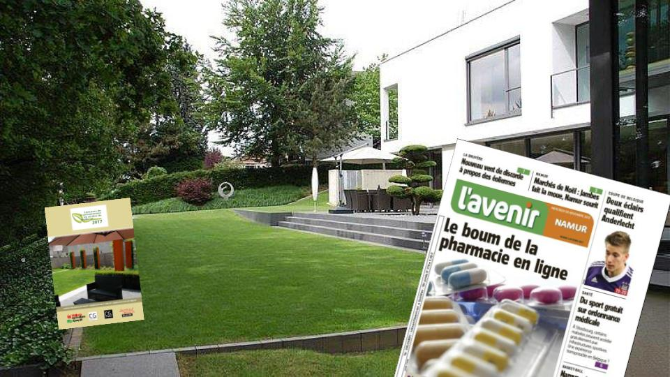 Tuinbijlage in l'Avenir en Jardins&Loisirs [oktober 2019]