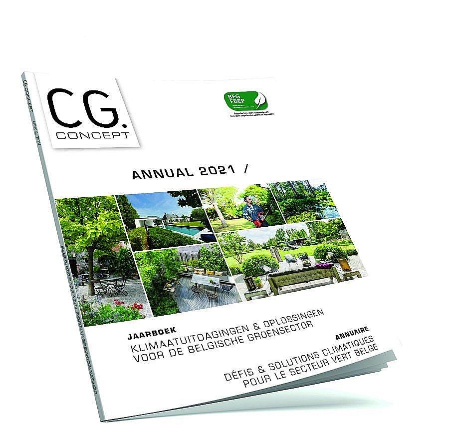 annual 2021 jaarboek Belgische groensector klimaatuitdagingen klimaatoplossingen
